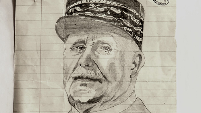 Dessin Pétain