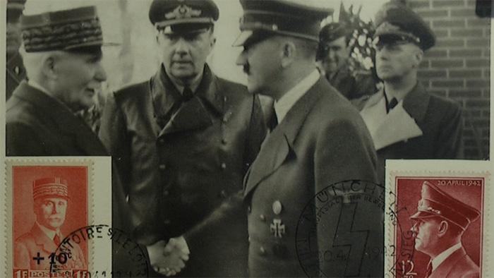 Pétain Hitler