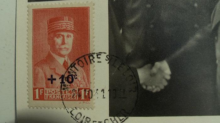 Timbre Pétain